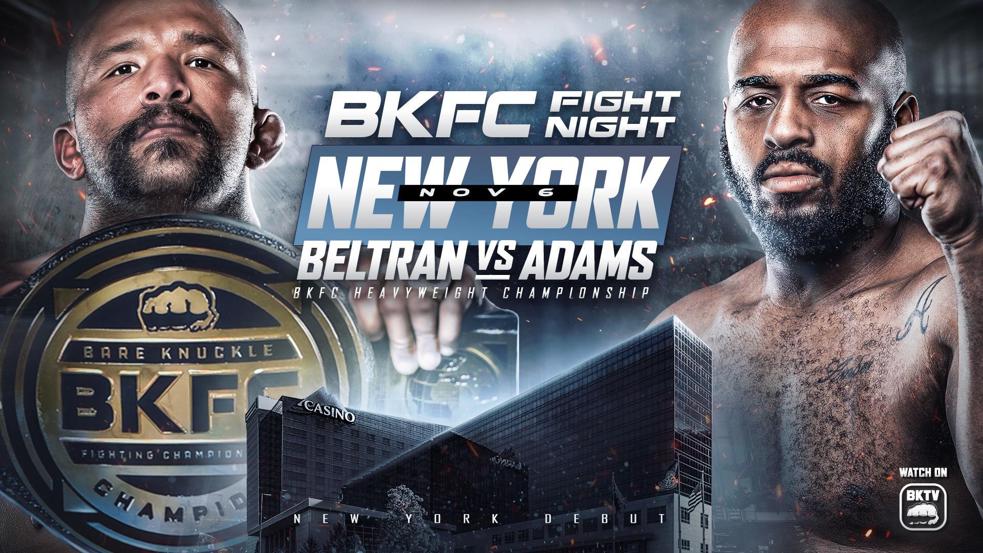BKFC Fight Night Beltran vs Adams Preview