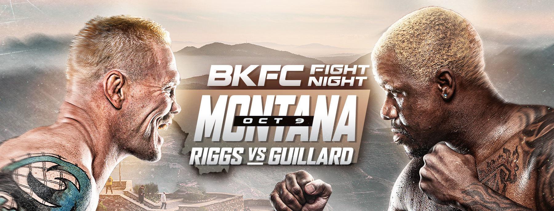 Watch BKFC Montana fight card - Joe Riggs vs. Melvin Guillard
