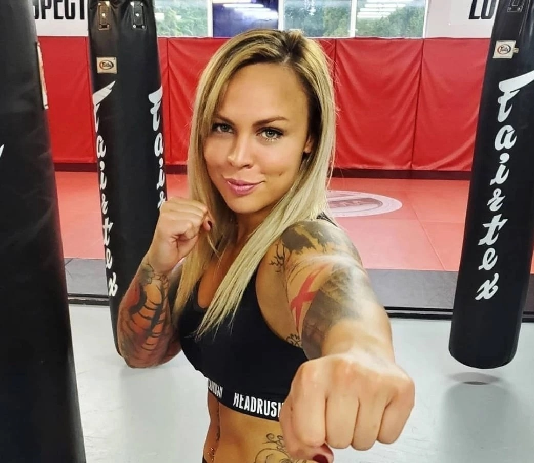 """Jade Masson-Wong's reason for joining BKFC is simple: """"I love punching people in the face"""""""