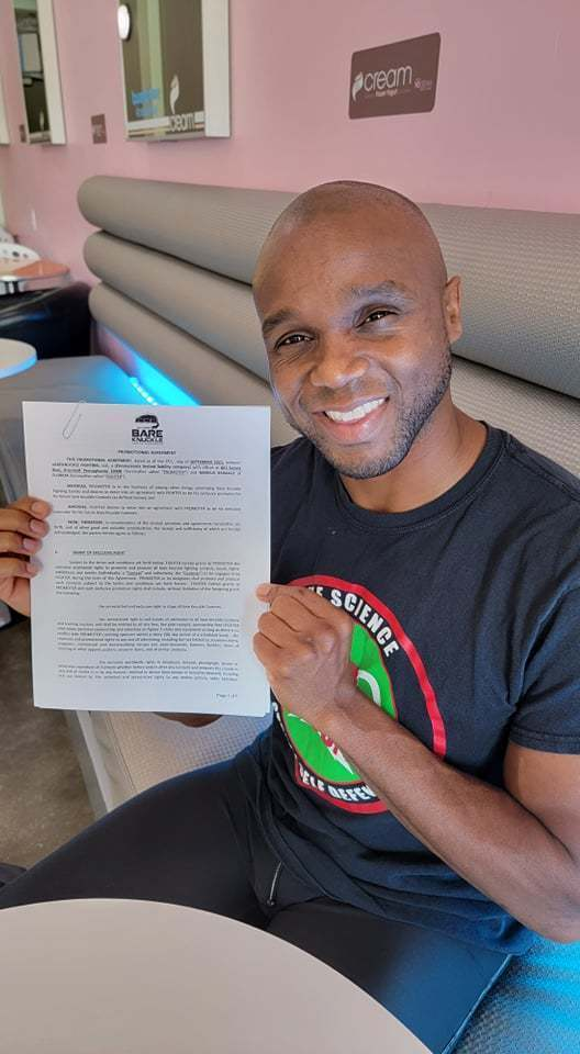 Marcus Brimage signs with Bare Knuckle FC