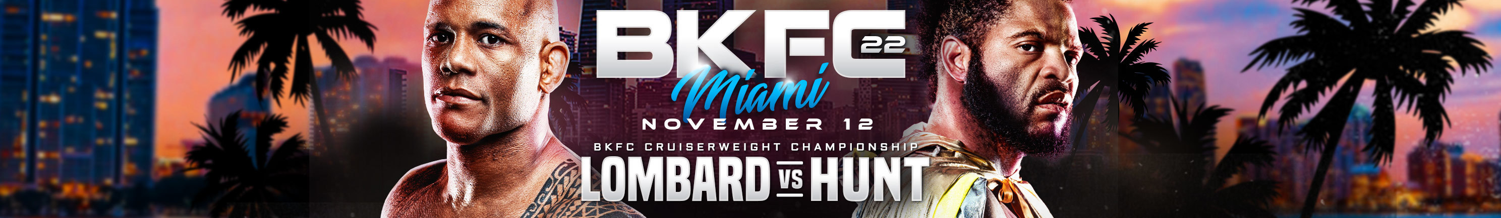 BKFC 22 Lombard vs Hunt