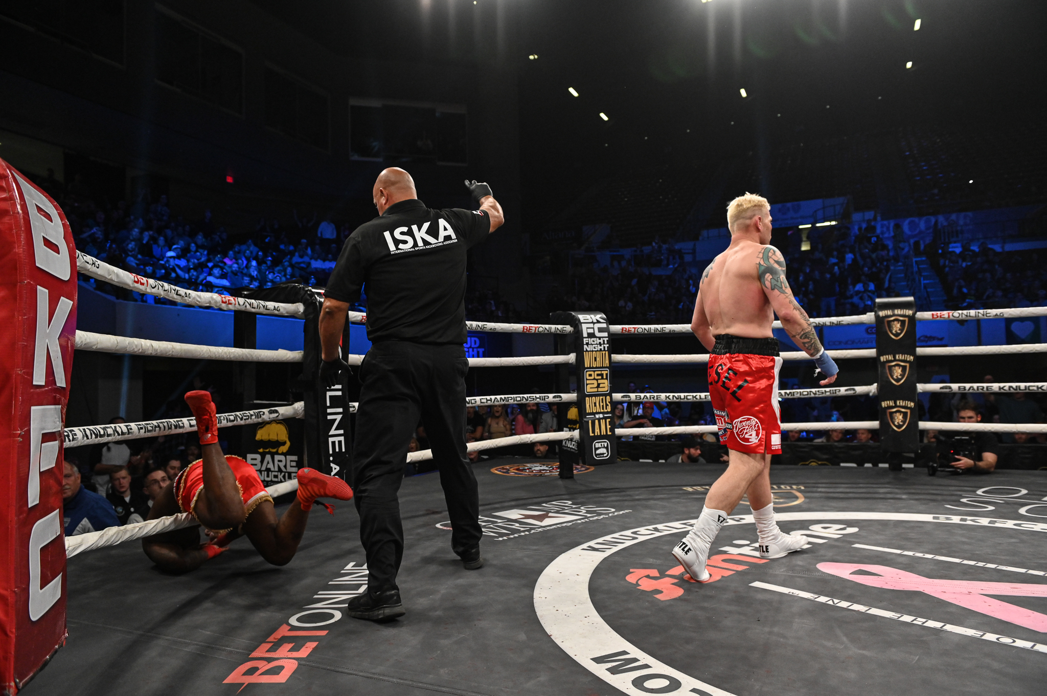 BKFC Fight Night Montana Results - Joe Riggs knocks out Melvin Guillard with one-punch