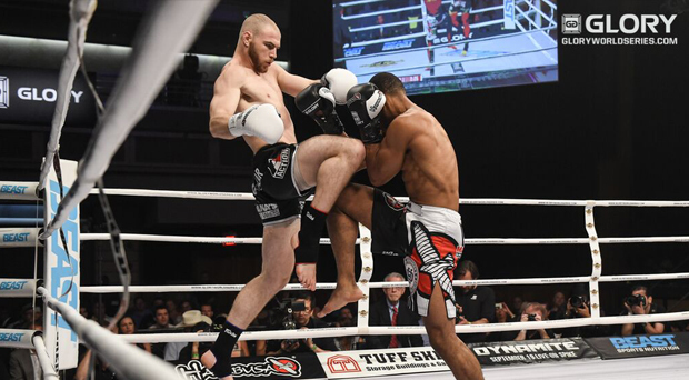 'Butcher' Baker to face slugger 'Louie' Van Heeckeren at GLORY 65 UTRECHT