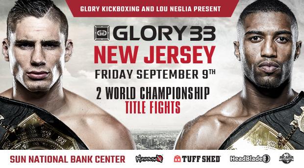 Rico Verhoeven vs. Anderson Silva Headlines GLORY 33 New Jersey