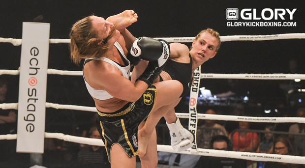 Alkayis outclasses De Waele in women's super-bantamweight Grand Prix match