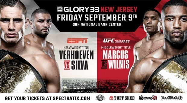 Two late changes to GLORY 33 Superfight Series card