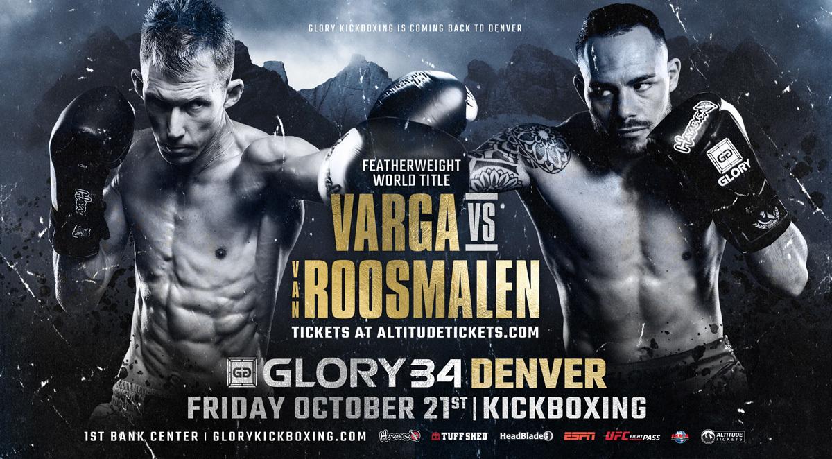GLORY Announces GLORY 34 Denver on Friday, Oct. 21 Followed by GLORY 35 Nice on Saturday, Nov. 5