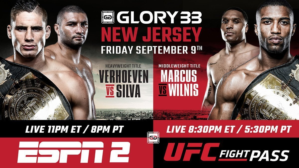 GLORY 33 NEW JERSEY & GLORY 33 SUPERFIGHT SERIES WEIGH-IN RESULTS, VIDEO, PHOTOGRAPHS