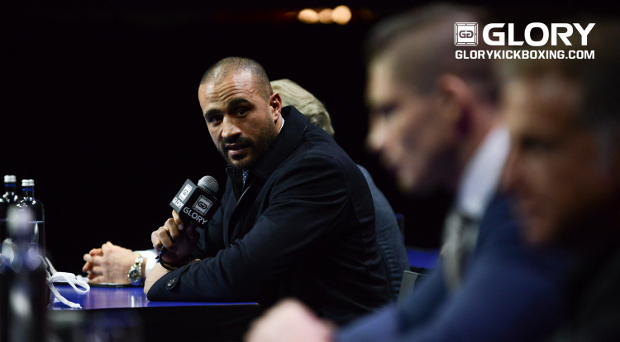 Badr Hari storms out of GLORY: COLLISION press conference