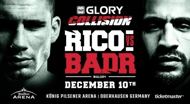 GLORY Partners With UFC.tv  For GLORY: COLLISION Pay-Per-View Special Event