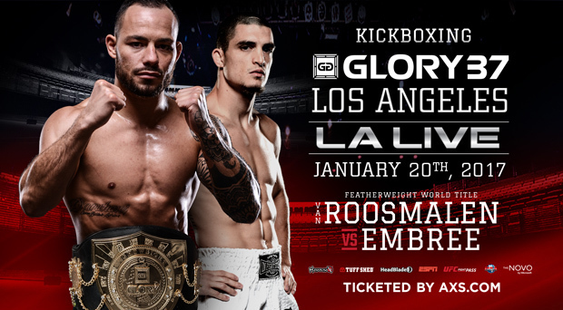 GLORY 37 Los Angeles Announced