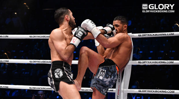 GLORY 36 GERMANY: Pinca outfoxes Amrani in featherweight clash