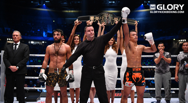 GLORY 36 GERMANY: Sittichai retains title, completes trilogy over Grigorian