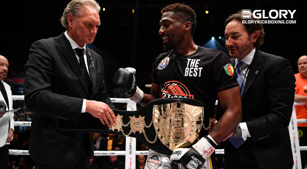 GLORY COLLISION: Cedric Doumbé is the new welterweight champion of the world