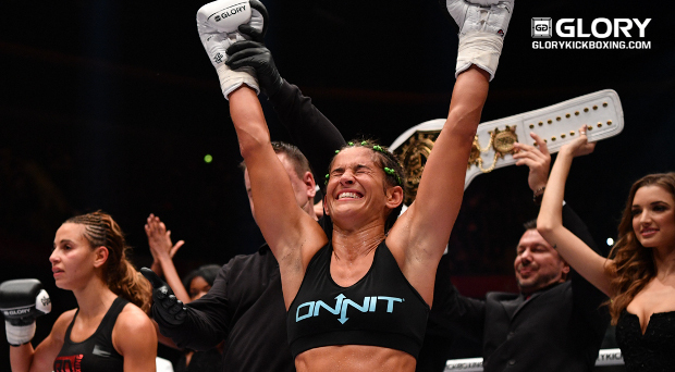 Tiffany van Soest is the Super-Bantamweight champion of the world