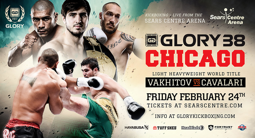 GLORY 38 SuperFight Series Gets New Headliner Finalizing Fight Cards for Friday, Feb. 24 in Chicago