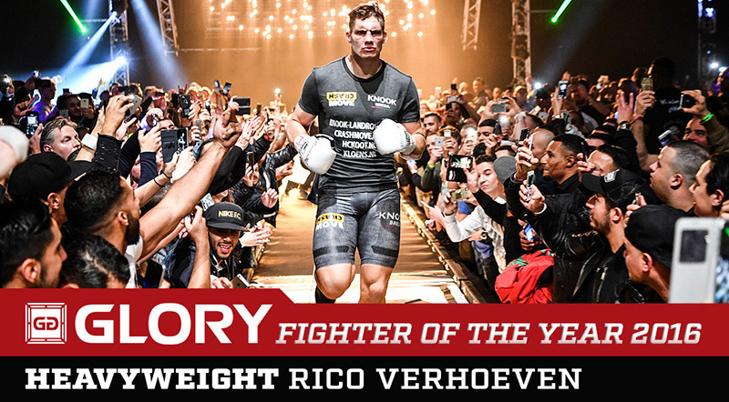 Rico Verhoeven is the GLORY Fighter of the Year 2016