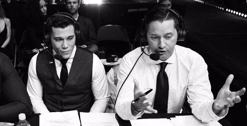 Play-by-Play Announcer Todd Grisham and Analyst Joe Valtellini Sign Multi-Year Deals to Remain Lead GLORY Broadcast Team