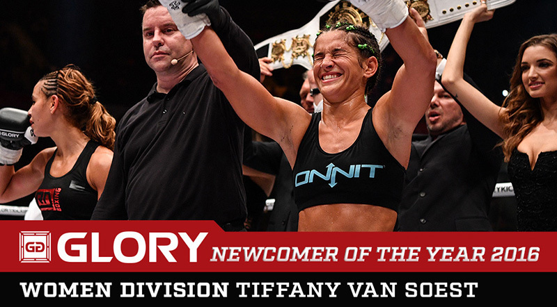 Newcomer of the Year: Tiffany van Soest