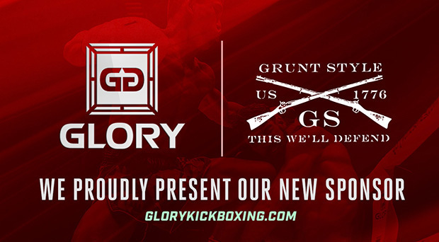 GLORY Partners with Apparel Brand Grunt Style for GLORY 39 Brussels