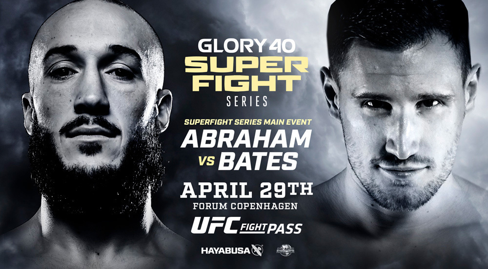 Road to GLORY UK Welterweight Superfight Winner Jamie Bates Debuts Against Richard Abraham in GLORY 40 SuperSeries Headline Bout