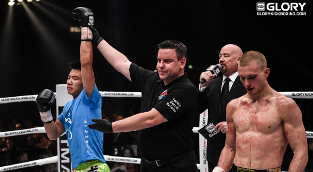 Xie debuts in GLORY with a win