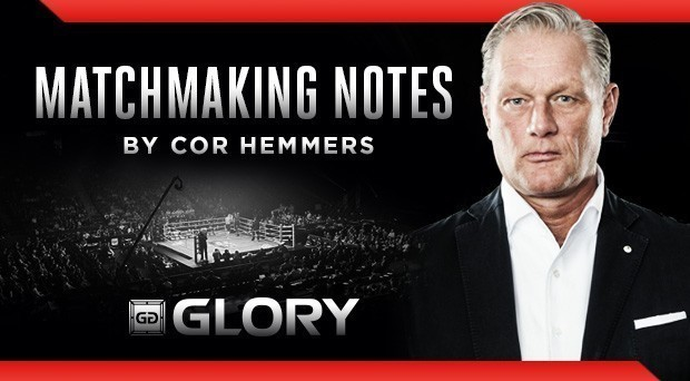 Matchmaker's Notes: GLORY 41 HOLLAND