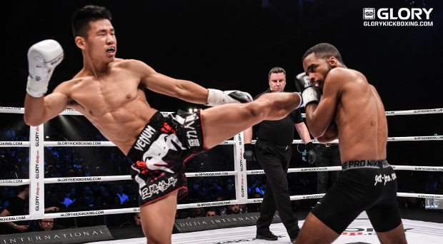 Zhang comes to bang in GLORY 41 debut