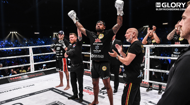 Gerges dominates Hron in GLORY 41 grinder