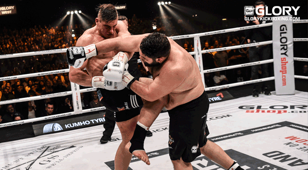 Verhoeven shuts out Lazaar in GLORY 41 main event