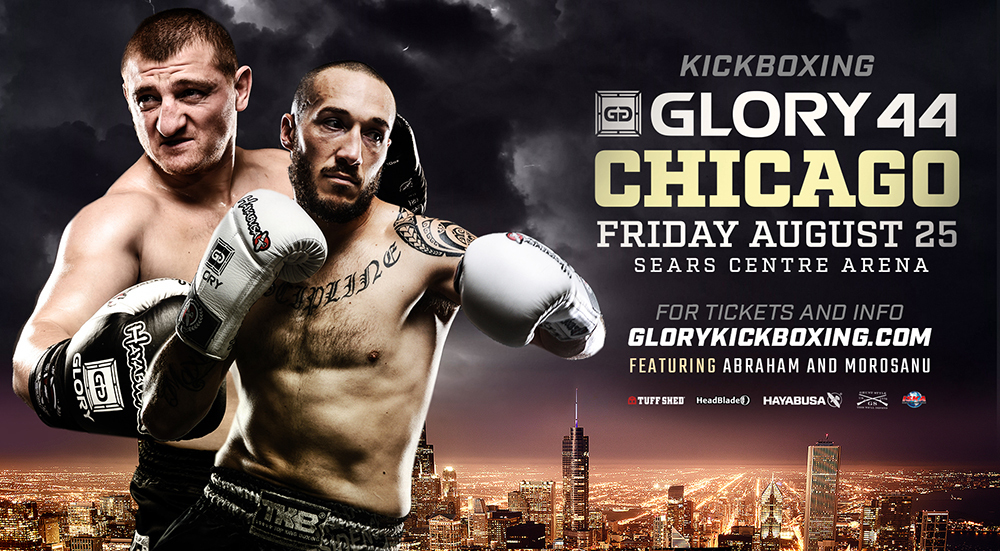 GLORY Returns to Sears Centre Arena for GLORY 44 Chicago and GLORY 44 SuperFight Series on Friday, Aug. 25