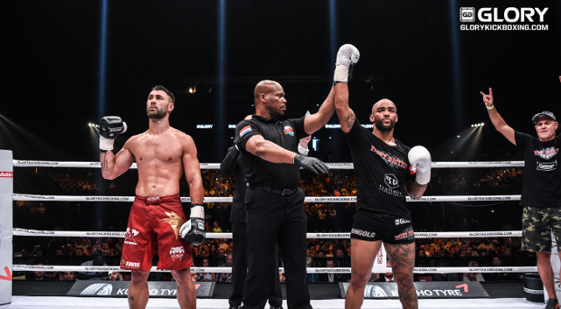 Following GLORY 42 win, Yoann Kongolo wants rematch with Nieky Holzken