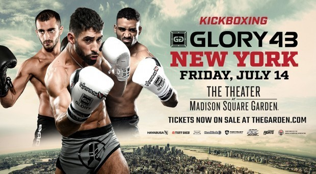 Josh Jauncey vs. Elvis Gashi Added to GLORY 43 on Friday, July 14