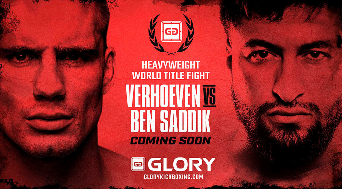 Rematch Between Heavyweight World Champion Rico Verhoeven and Challenger Jamal Ben Saddik Headlines Year-End Fight Card