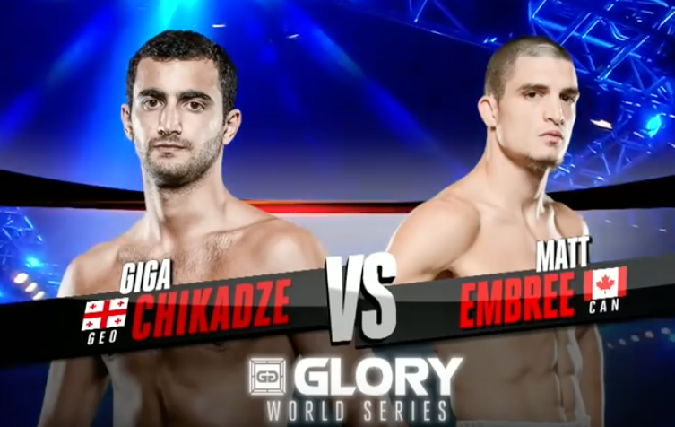 GLORY 33 New Jersey: Matt Embree vs. Giga Chikadze (Tournament Finals)