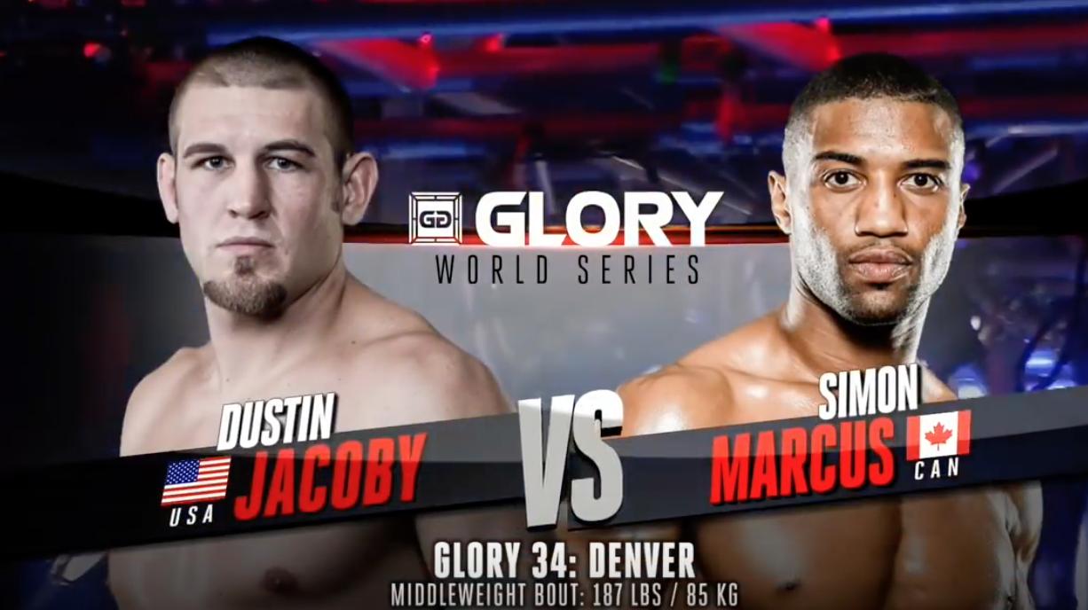 GLORY 34 Denver: Dustin Jacoby vs. Simon Marcus