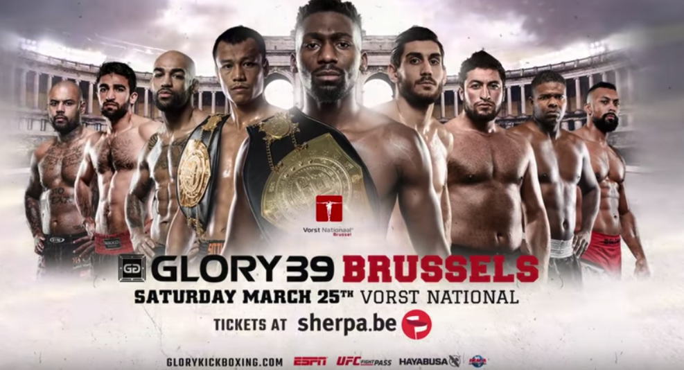 GLORY 39 Brussels: Tickets on sale!