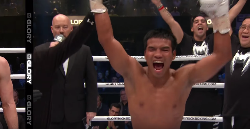 GLORY 41 Holland: Petchpanomrung Kiatmookao Highlight