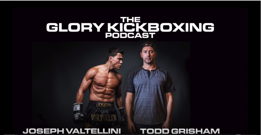The GLORY Kickboxing Podcast: Episode 14 (featuring Robin van Roosmalen)