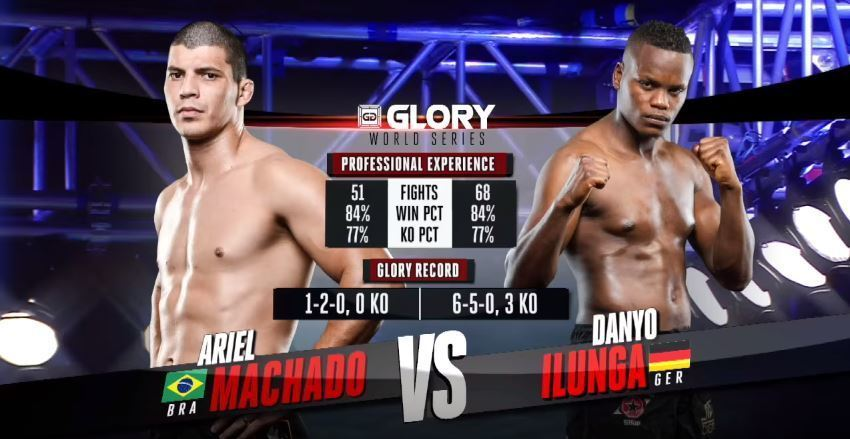GLORY 38 Chicago: Ariel Machado vs. Danyo Ilunga (Tournament Semi-Finals)