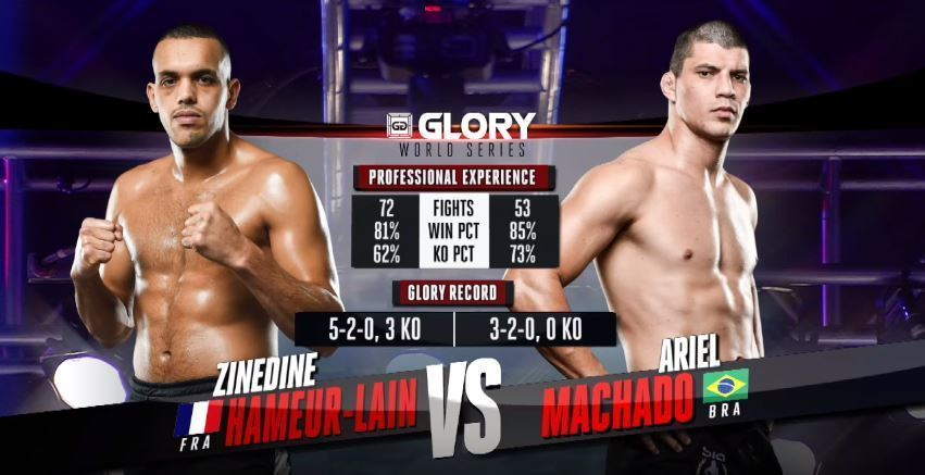 GLORY 38 Chicago: Ariel Machado vs Zinedine Hameur-Lain (Tournament Finals)