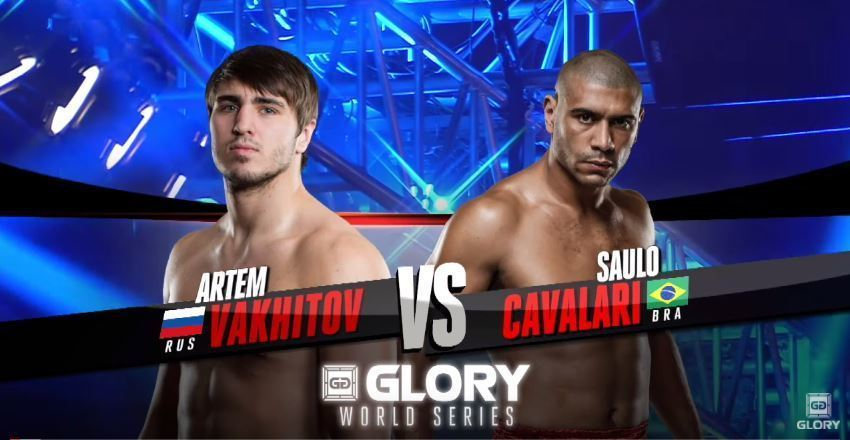 GLORY 38 Chicago: Artem Vakhitov vs. Saulo Cavalari (Light Heavyweight Title Fight)