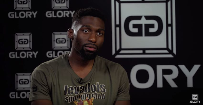 """Cedric Doumbé advises Holzken to """"be happy with being #2"""" #GLORY42"""