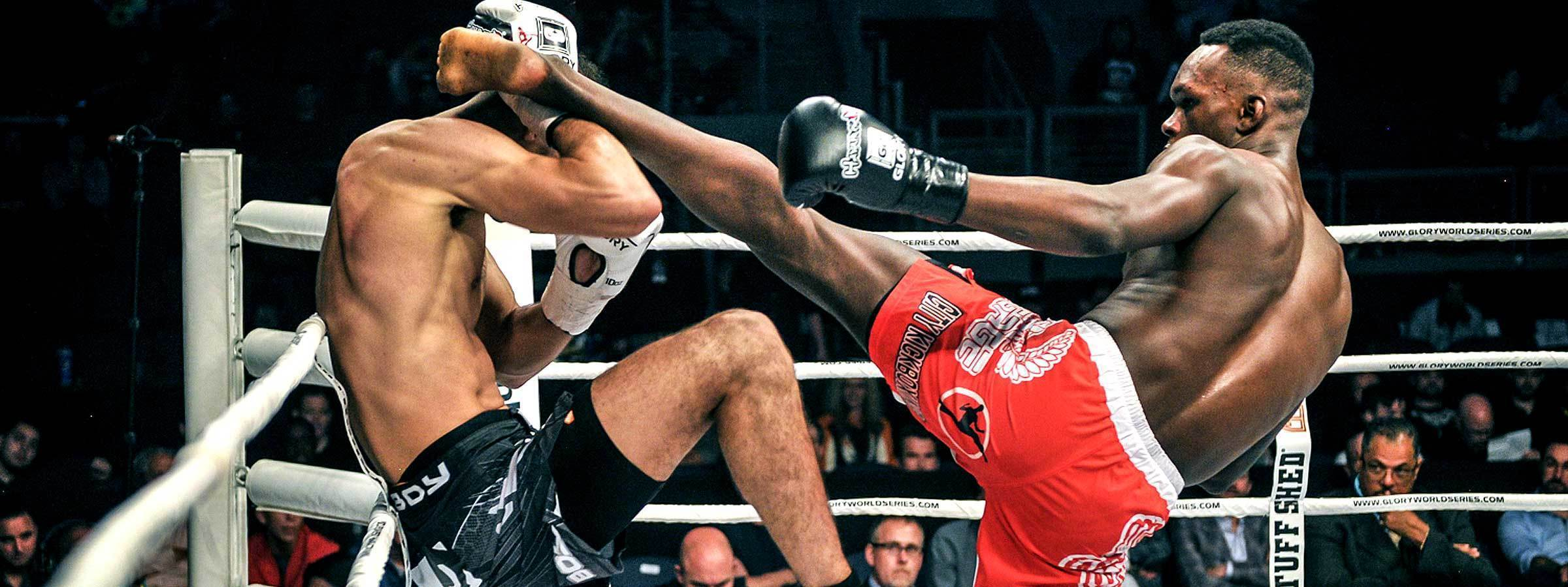 Israel 'The Last Style Bender' Adesanya : Glory Kickboxing