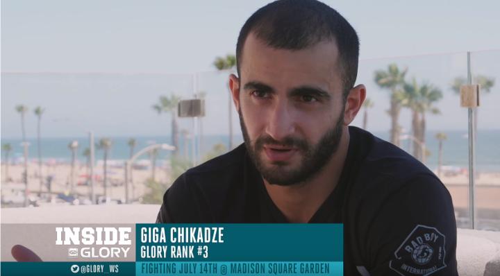 Giga Chikadze trains to become next champion from Kings MMA   GLORY 43 New York