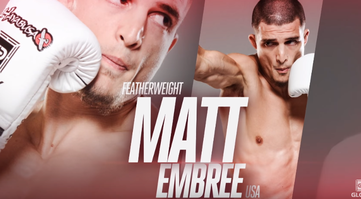GLORY 43 New York: Matt 'Matics' Embree Highlight