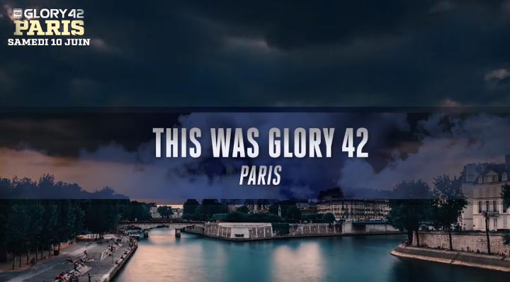 This was: GLORY 42 Paris
