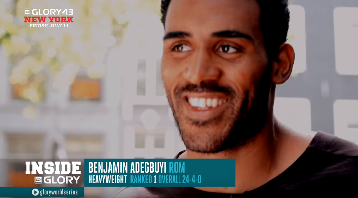 Post-workout meal and life stories with Benjamin Adegbuyi | GLORY 43 New York