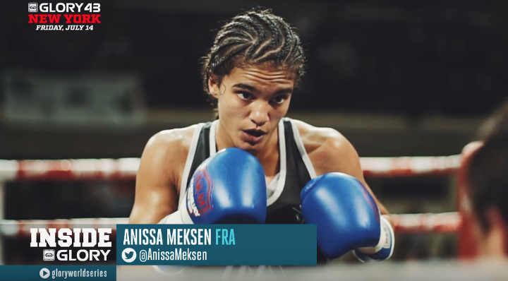 GLORY 43 New York: Anissa Meksen Highlight