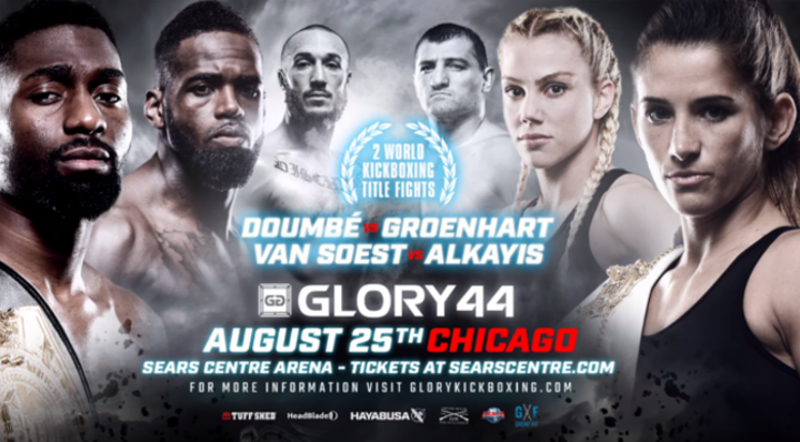 GLORY 44 Chicago: Tickets on sale!